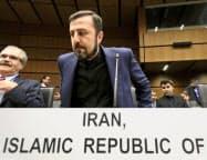 イランのアバディIAEA担当大使=AP