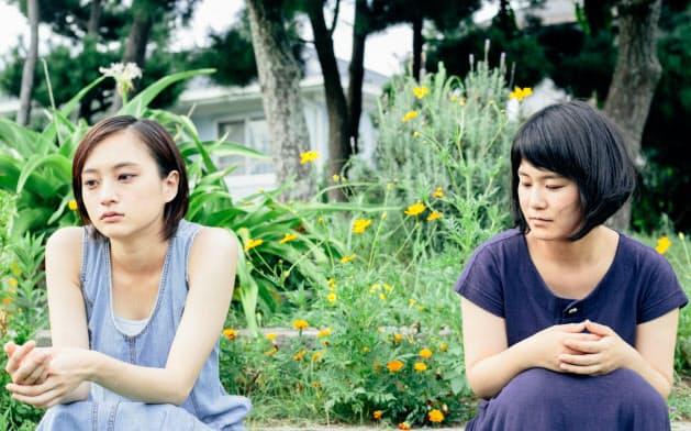 二ノ宮隆太郎監督「お嬢ちゃん」。左が主演の萩原みのり