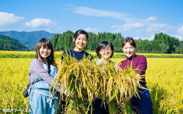 農家民宿プランでは農作業も体験できる