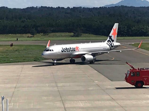 ジェットスター・ジャパンは8月に庄内―成田線の運航を始めた