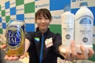 ファミリーマートはPBで安価な洗濯用洗剤などを発売する(横浜市西区)