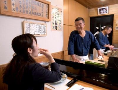 江戸時代の寿司は大きめで食べるのに一苦労