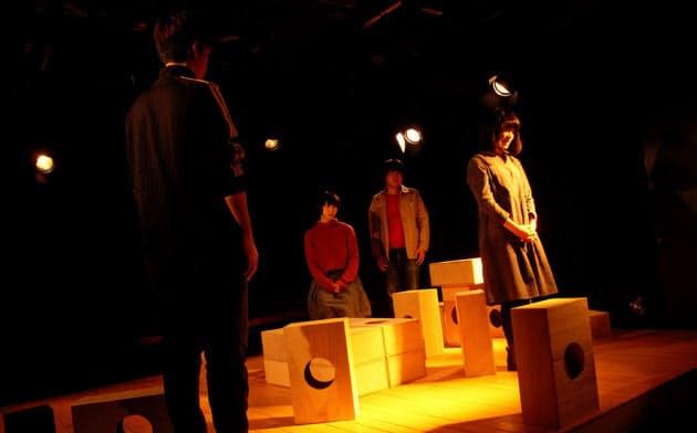 プロトテアトルの「ノクターン」は会場となる劇場ウイングフィールドの歴史も取り込んだ作品だ
