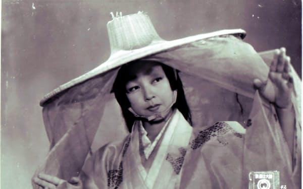 「羅生門」の京マチ子(C)KADOKAWA1950