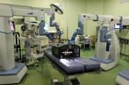新手術支援ロボットは約20カ国で使われている。