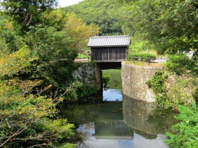 世界かんがい遺産に登録された倉安川吉井水門(岡山市)