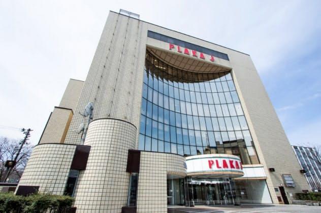 「PLAKA3」の1階に10月下旬、起業家支援拠点「SN@P」ができる(新潟市)