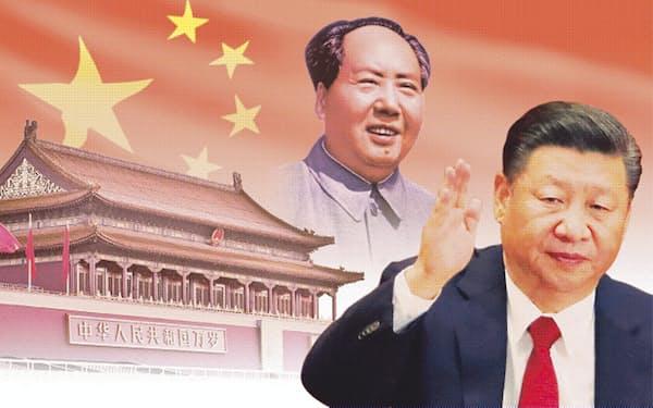 中国は毛沢東の大躍進政策と文化大革命の発動で一時は経済崩壊の瀬戸際まで追い込まれたが、今や世界第2位の経済大国に(コラージュ、写真は共同)