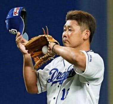 中日・松坂は今季キャンプで右肩を負傷、2登板しかしていない=共同