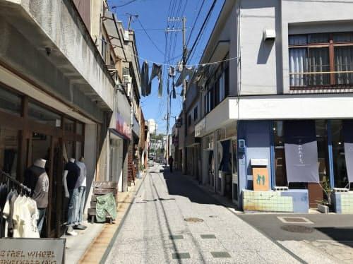 来訪客が年間20万人に達する岡山県内有数の観光地に成長した(10日、岡山県倉敷市)