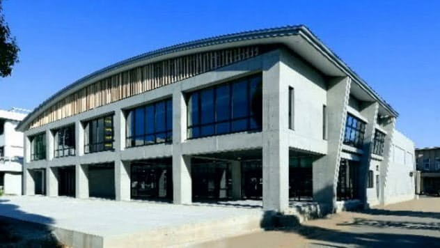 1階は400人以上収容の多目的ホール(名古屋市)