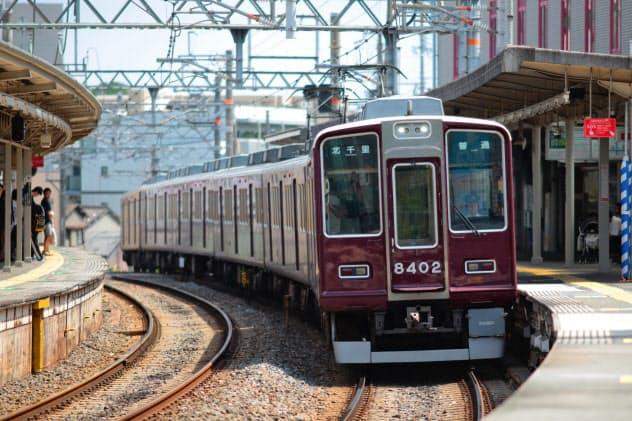 阪急千里線は大阪の地下鉄と初めて相互乗り入れをした