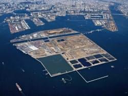 帰属が争われている中央防波堤埋立地