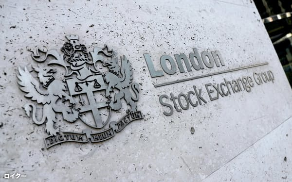 ロンドン証券取引所=ロイター