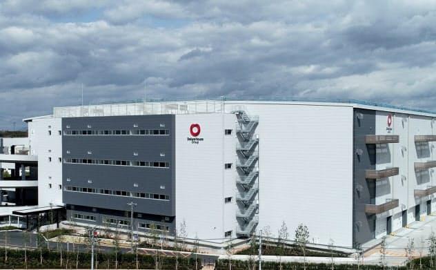 大和ハウスはネット通販需要が大きい首都圏などで開発を急ぐ(千葉県流山市の物流施設)