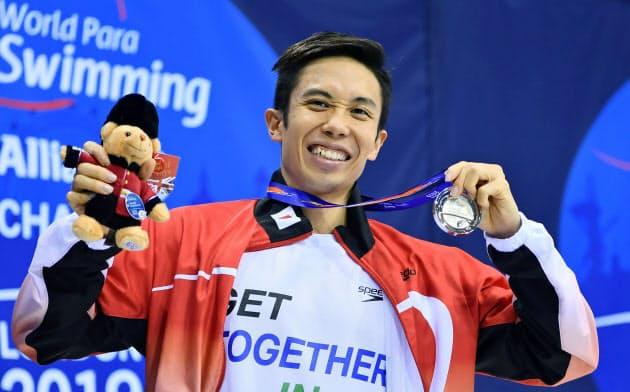 パラ競泳、鈴木・富田が銀 世界選手権