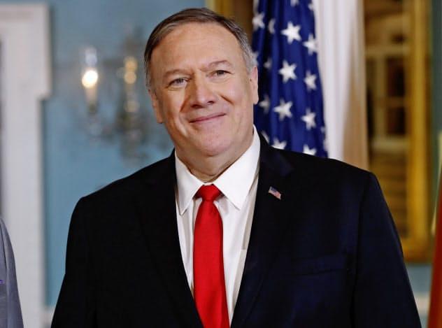 ポンペオ米国務長官は日韓関係の改善に期待を示した=AP
