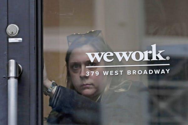 ウィーワークは13日に上場先候補をナスダックとする目論見書を米証券取引委員会に提出していた=ロイター
