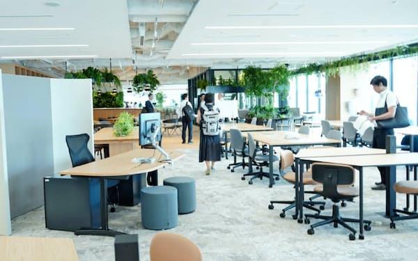 東急不動産ホールディングスの新本社オフィス「Call」(東京都渋谷区)