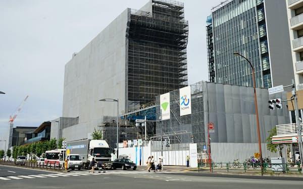 立飛ホールディングスはJR立川駅の北側で約4万平方メートルの「グリーンスプリングス」を開発する(東京都立川市)