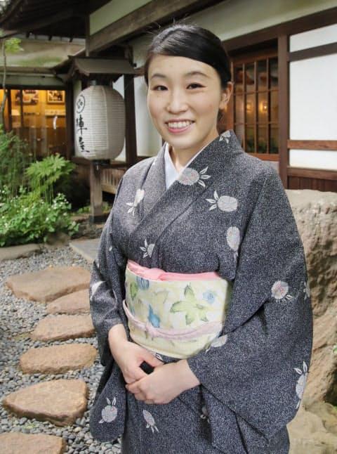 専業主婦だった宮崎さんは突然、女将として老舗旅館を継ぐことになった(神奈川県秦野市の陣屋)
