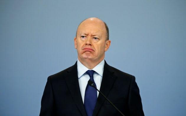 投資ファンド最大手マン・グループの会長に指名されたドイツ銀行の前最高経営責任者(CEO)ジョン・クライアン氏=ロイター