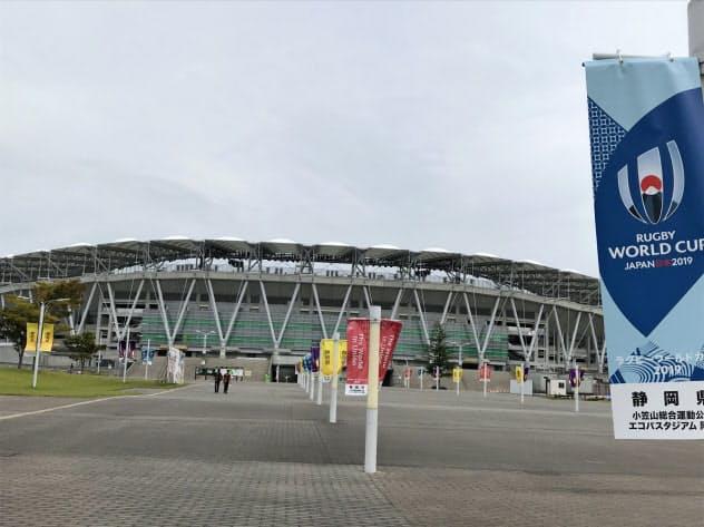 エコパスタジアム(静岡県袋井市)では日本代表戦など4試合が予定されている