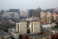 中古住宅価格は北京など「1級都市」で下落した(北京市内)=ロイター