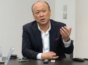 12代目カローラの開発を担当した上田泰史チーフエンジニア(17日、江東区)