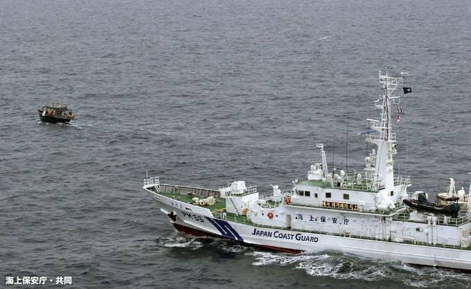 海保巡視船が「不法侵入」 北朝鮮主張、威嚇事案か: 日本経済新聞