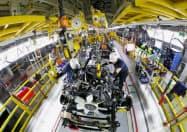 トヨタは米テキサス州の工場でピックアップトラック「タンドラ」や「タコマ」を生産している(写真は企業提供)