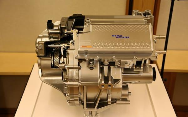 開発中の最大出力150キロワットの電動車向け駆動装置
