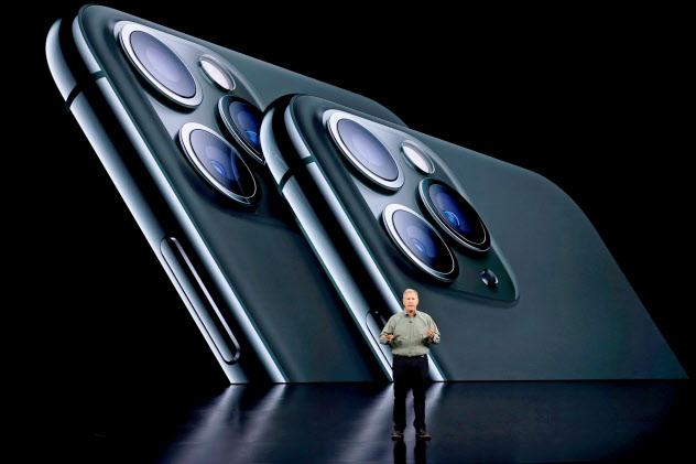 台湾IT業界では新型iPhoneへの期待が盛り上がっていない(10日、米カリフォルニア州)=ロイター