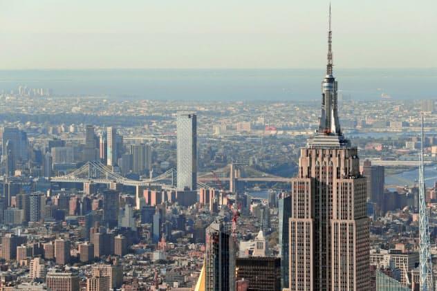 ニューヨークの風景=ロイター