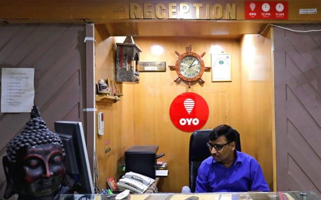 インドの格安ホテルチェーンOYO(オヨ)ホテルズアンドホームズは、急速に事業を拡大している=ロイター