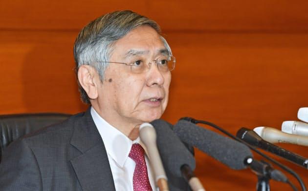 黒田総裁、物価停滞「より注意必要に」 海外リスク警戒