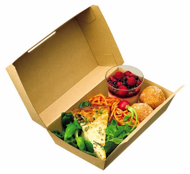 アスクルは9月30日までテークアウト用の包装などを値下げする。