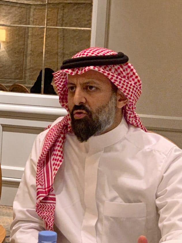 サウジアラビアのクワイズ資本市場庁長官(18日、リヤド)