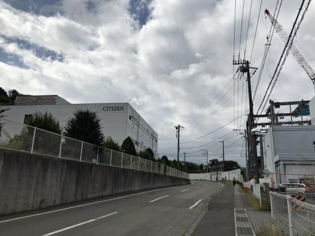 山梨県の工業地で上昇率が最も高かった、富士吉田市向原1丁目