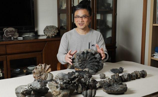 宇都宮は数多くの貴重な化石を採集してきた
