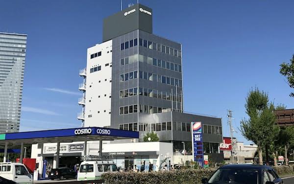 2020年1月にオプテックスグループの本社が移転する旧オプテックス本社ビル(大津市におの浜)