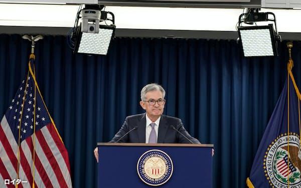パウエルFRB議長は0.25%の追加利下げに踏み切った=ロイター