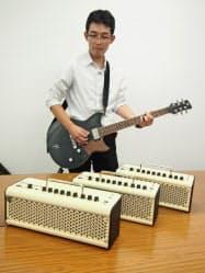 従来モデルより大きな音量や音の迫力を得られる