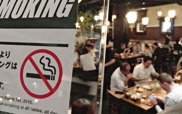 完全禁煙の居酒屋も増えている