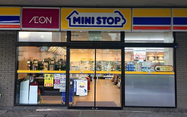 ミニストップの店舗(千葉市美浜区)