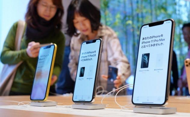 新型iPhone発売で行列 新ルールでも人気続くか