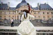 パリ近郊のボールビコント城(2015年7月、AP)=共同