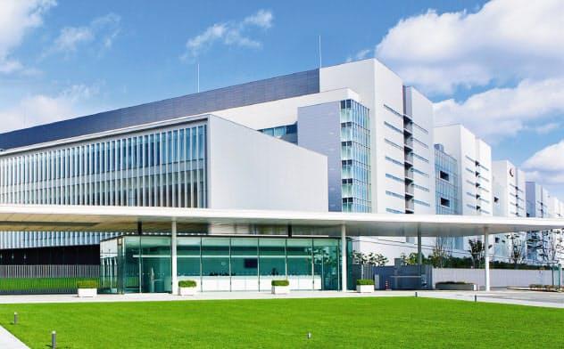 武田の研究所では、神経疾患などの研究を進めている(神奈川県藤沢市)
