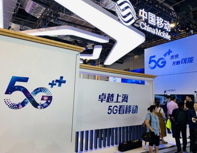 中国政府は5Gで景気刺激も狙う(上海市、8月)