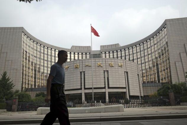 中国人民銀行は1年物ローンプライムレートを引き下げた=AP